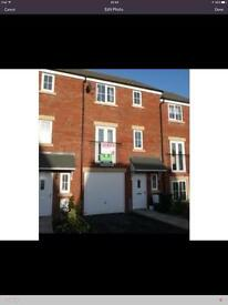 4 bed House townhouse Carlisle garage garden driveway consider swap px