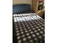 Small double bed/large single inc headboard