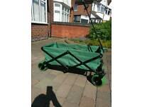 Brand new folding garden cart