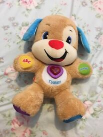 Fisher Price Laugh & Learn puppy toy