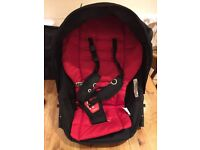 Phil and Ted Dot stroller second seat