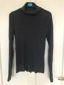 New look ribbed polo neck jumper