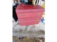 Bedside cabinets and drawers