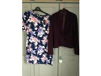 Size 8 dress and jacket - new!