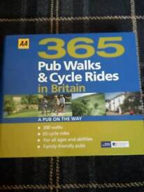 365 pub walks and cycle rides around britain not used at all ..very well illustrated
