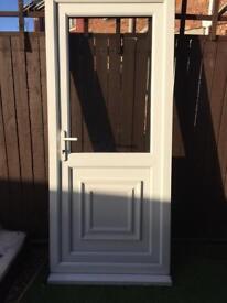 Used upvc door
