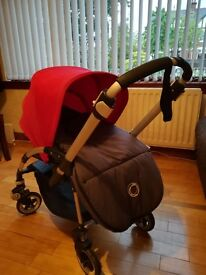 Bugaboo Bee 3 used but in very good condition. Includes rain cover and muffler.