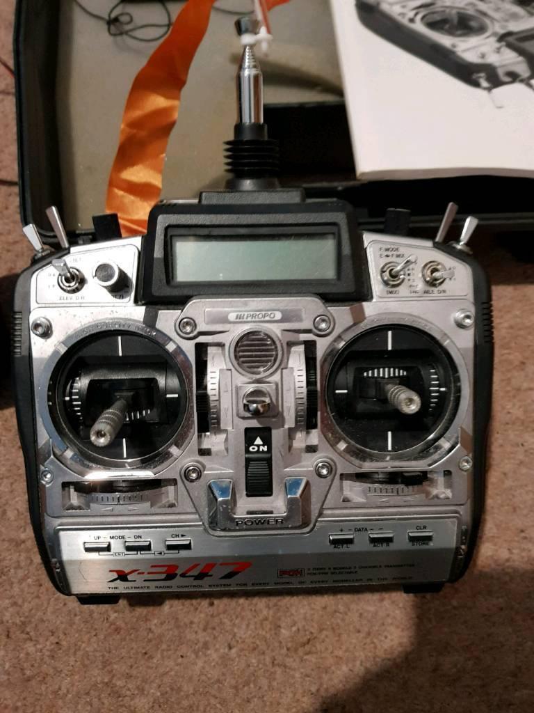 7 channel radio gear