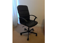 IKEA Torkel office chair (black, height adjustable) - PERFECT! no stains, scratches or flaws