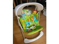 Fisher-Price baby swing. Music and vibrates