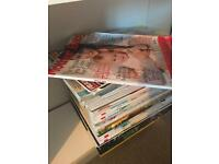 Lots of mother and baby magazines!!
