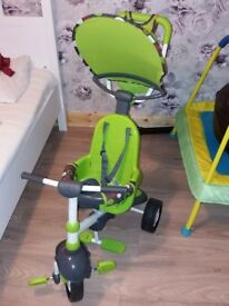 Fisher Price 3 in 1 Trike, 10 to 36 months, Like New!
