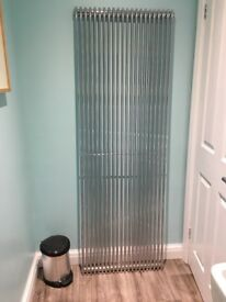 Designer chrome horizontal radiator