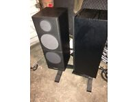 Mordaunt short 5.40 Floor speakers