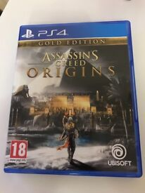 Assassins creed origins gold edition for Xbox one and PS4