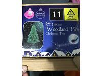 6ft woodland pine christmas tree