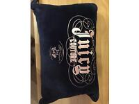 Juicy couture travel pillow and blanket