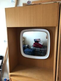 Retro 3 piece Wooden Wardrobes and dressing table