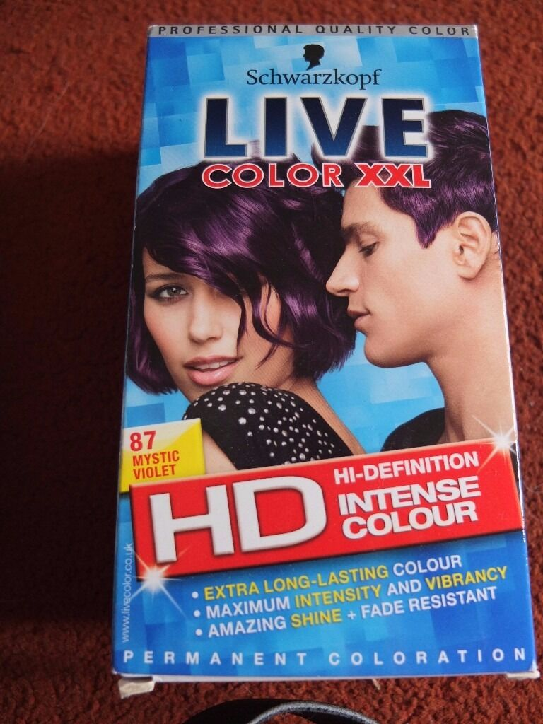 Schwarzkopf Live Color Hair Dye And Superdrug Permanent Blonding Kit