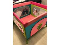 Large square baby play pen