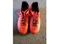 Boys Nike moulded football boots size 1