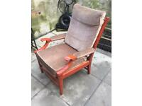 Vintage Clinique armchair