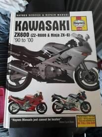Haynes kawasaki zzr6 90-00