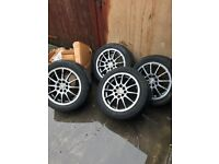 alloy wheels with continental tyres