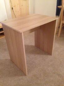 Oak effect dressing table or computer desk
