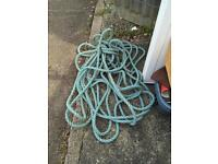 Thick blue rope
