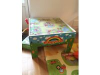 Happyland Play Table Wooden