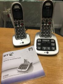 Big Button Cordless Phone with answer machine