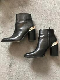 Last years Zara ankle boots