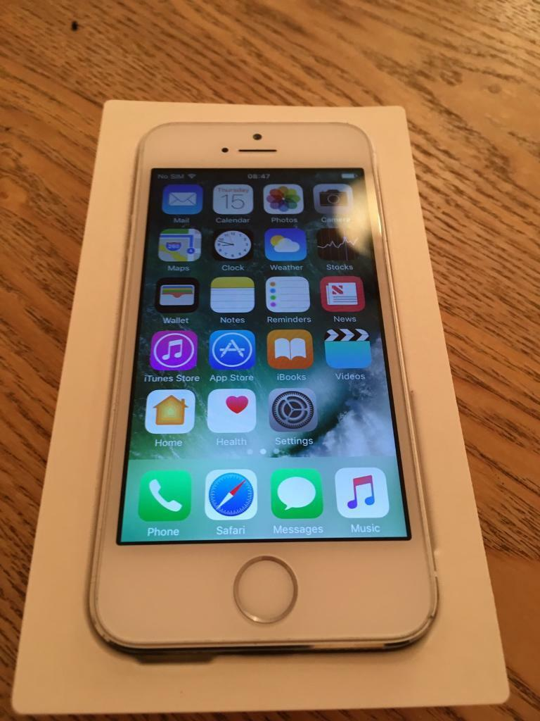 Amazing condition iPhone 5s 16GB on Vodafonein Irvine, North AyrshireGumtree - For sale in excellent condition iPhone 5s 16GB Vodafone network come with charger can deliver 07803769296 one year warranty from the date of purchase as its business here