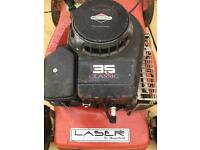 Petrol lawnmower good working order, needs plate welding back on