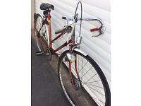Vintage 1960 Raleigh Racer racing Road Bike