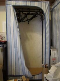 Free standing wardrobes Size H57 inches, W29 inches, D19 inches – three for sale.