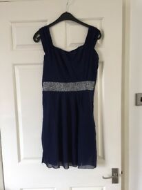 Woman's Navy Size 10-12 Dress