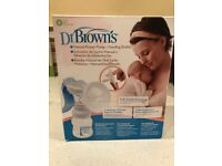 Unused Dr Browns breast pump