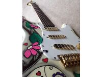 Unique Fender Stratocaster Style Guitar