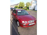 ROVER 25 iXL, 2003, petrol, 5 doors, leather seats, alloys, air-con, radio/CD, 92,000 miles