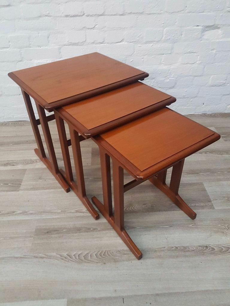 Stag Nest Of Tables (DELIVERY AVAILABLE FOR THIS ITEM OF FURNITURE)