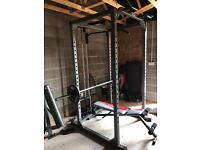 ***SOLD*** Squat/power rack home gym