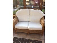 Conservatory furniture, excellent condition. sofa, 2 chairs, 1 coffee table and 2 side tables