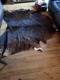 Cow hide rug Americana