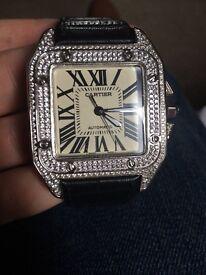 Diamond Cartier santos