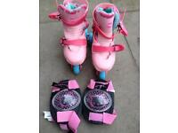 Roler skates size:9-12