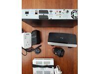 BT Vision box, Powerline Adaptors, Routers bundle