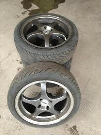 Tsw alloy wheels and tires