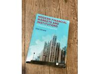 Book Modern financial markets &institution : A practical perspective